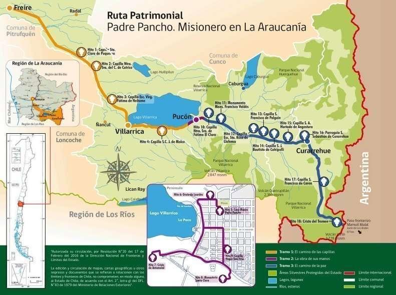 Mapa Ruta Padre Pancho