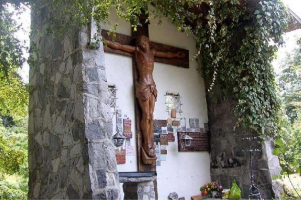 cristo antumalal - Ruta del Padre Pancho