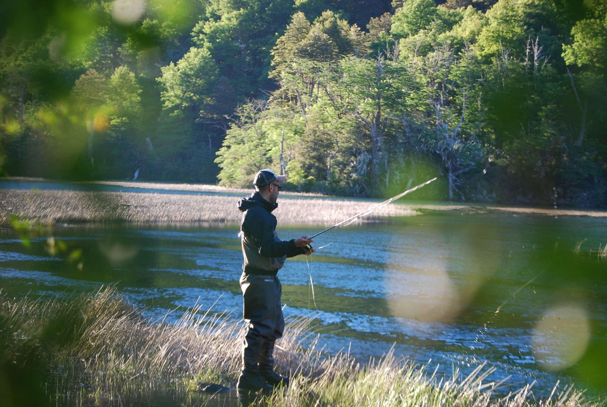 Pesca recreativa Pucón