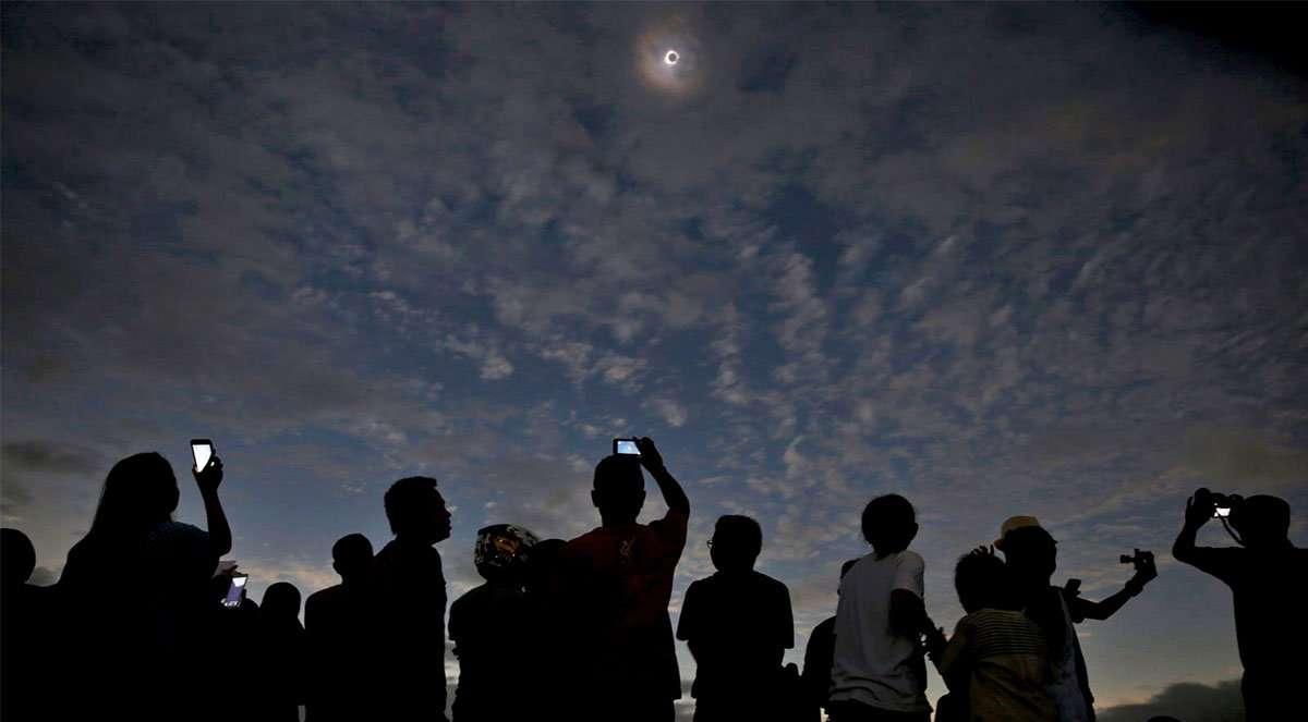 Eclipse de Sol 2020 Pucón – Evento natural en entorno natural