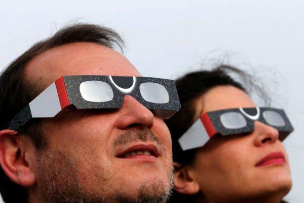 Seguridad Eclipse Solar Pucón 2020