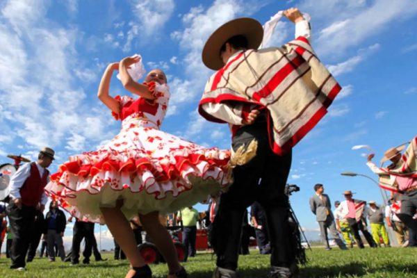 Fiestas patrias en Pucón